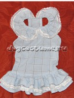 Летнее платье Голубое