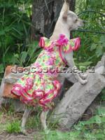 Летнее платье Фиалки