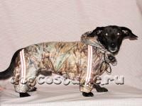 Модель Роджер, сезон - зима, цвет ткани - камыш камуфляж