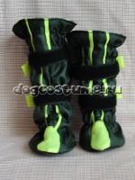 ботинки на переднюю и заднии ноги разной высоты