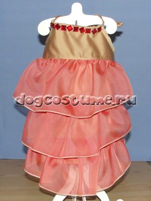 летнее платье Кармен