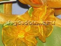 украшение текстильные розочки