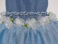 украшение - текстильные розочки