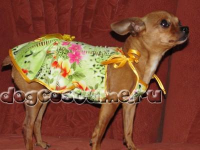 трикотажное платье Кери