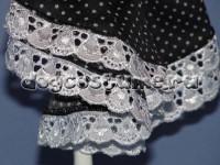 Украшение платья - шитьё
